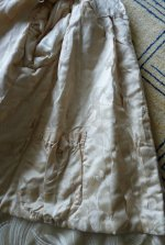 113 antique silk coat 1906
