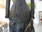 7 antique mourning dress 1879