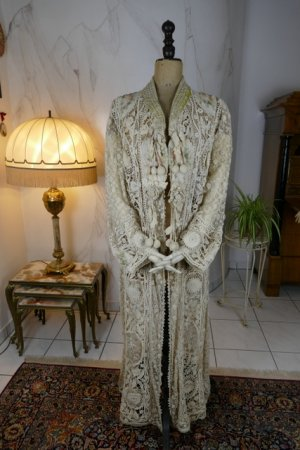 antique irish lace coat 1904