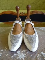 3 antique wedding shoes 1908