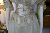 4 antique ball gown 1900