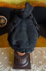 10a antique mourning bonnet