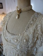 8 antique wedding gown