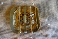 5 antique belt buckle 1901