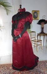 14 antique reception gown