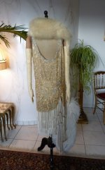 61 antique flapper dress 1920