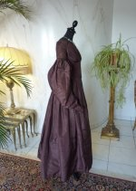 11 antique romantic period gown 1837