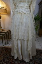 15antique wedding dress Barcelona 1908