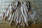 105 antique silk coat 1906