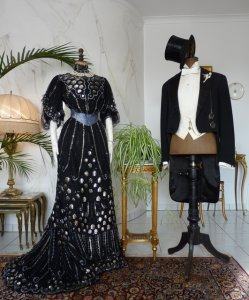 antique ball dresses