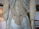 21 antique evening gown Worth 1894