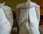 25 antique wedding boots 1845