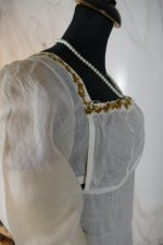 21 antique empire dress 1802