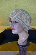 5 antique boudoir Bonnet 1920