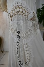 19 antique irish crochet dress 1904
