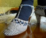 17 antique rhinestone shoes 1920