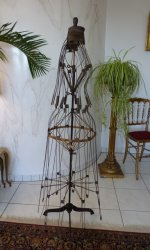 23 antique wire dressmakerform 1881