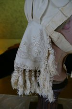 11 antique wedding bonnet 1870