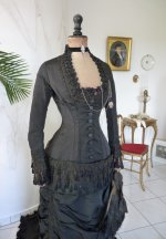 13 antique mourning dress 1879