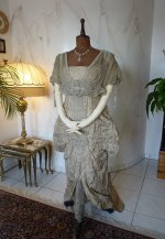 17 antique Maurice Mayer gown 1913