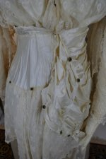 23 antique wedding dress Barcelona 1908