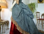 17 antique Ball gown 1876