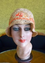 3 antique cloche hat 1927