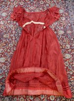 34 antique gauze dress 1828