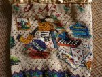 12 antique beaded Purse 1825