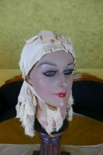 13 antique wedding bonnet 1870