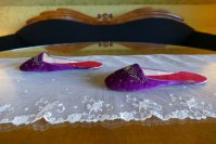 8 antique boudoir slippers 1885 1900