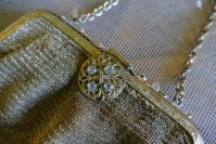 5 antique metal mesh purse 1915