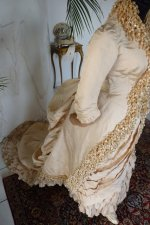 34 antique bustle gown