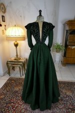 18 antique reception gown 1896
