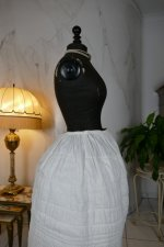 16 antique Biedermeier Petticoat 1840