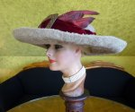 5 antique hat Titanic Cameron 1912