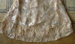 45 antique wedding gown 1923
