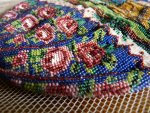 5 antique beaded Purse 1825