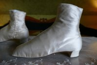 8 antique wedding Boots 1860