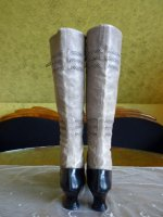 8 antique knee boots 1905