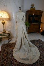 18 antique wedding dress 1878