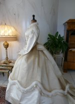16 antique wedding dress 1876