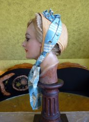antique spoon bonnet 1860
