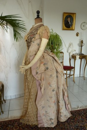antique ball gown 1880