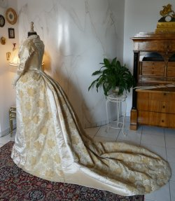 15 antique court dress 188