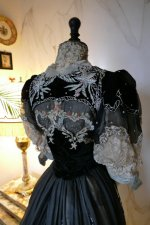 38 antique Gustave Beer gown 1906