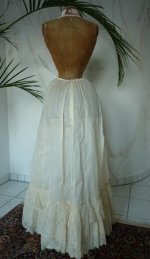 8 antique petticoat