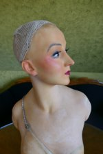 30 antique Pierre Imans wax mannequin 1920