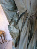 38 antique silk dress 1800