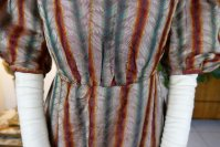 5 antique romantic Period dress 1825